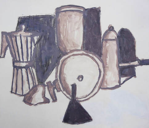 Kitchen still life John Doyle artworks