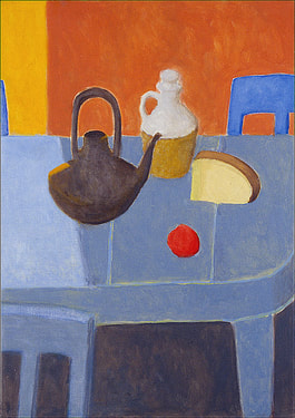 John Doyle art: Kitchen Still Life