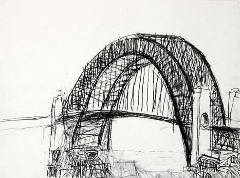 John Doyle art: Bridge 1
